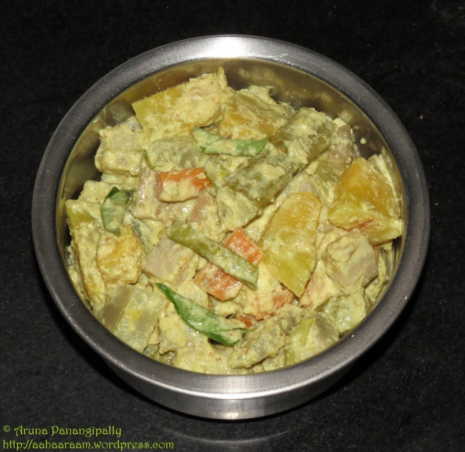 Aviyal - Mixed Vegetable Curry from Kerala
