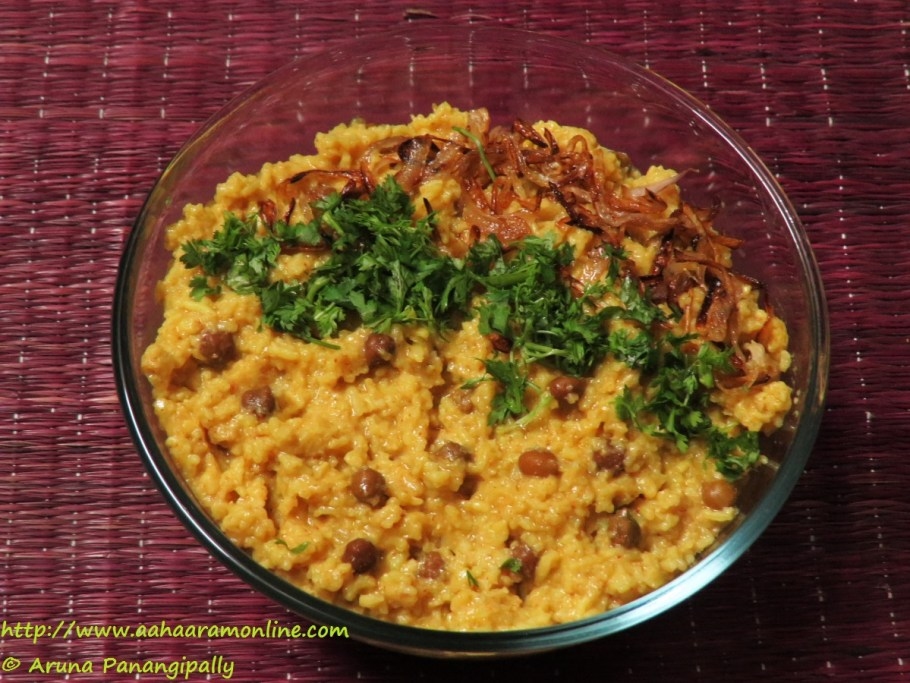 Balaee - Khichdi with Chana and Cooked in Buttermilk