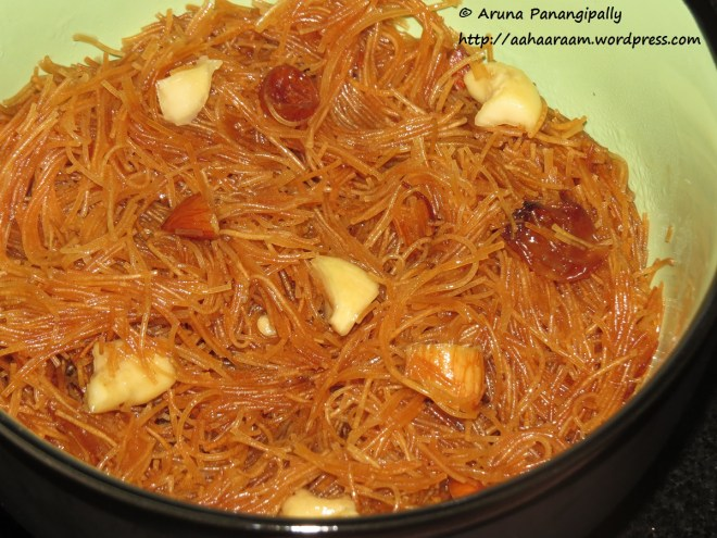 Meethi Seviyan or Sweet Vermicelli