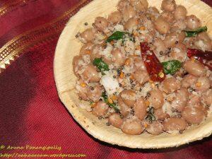 Peanut or Verakadalai Sundal (Palli Guggillu)