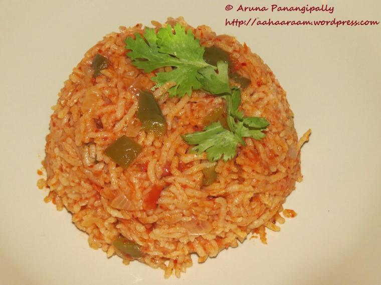 Tomato Annam, Tomato Rice or Thakkali Sadam