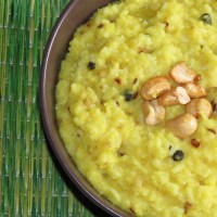 Katte Pongali or Ven Pongal (Savoury Pongal)