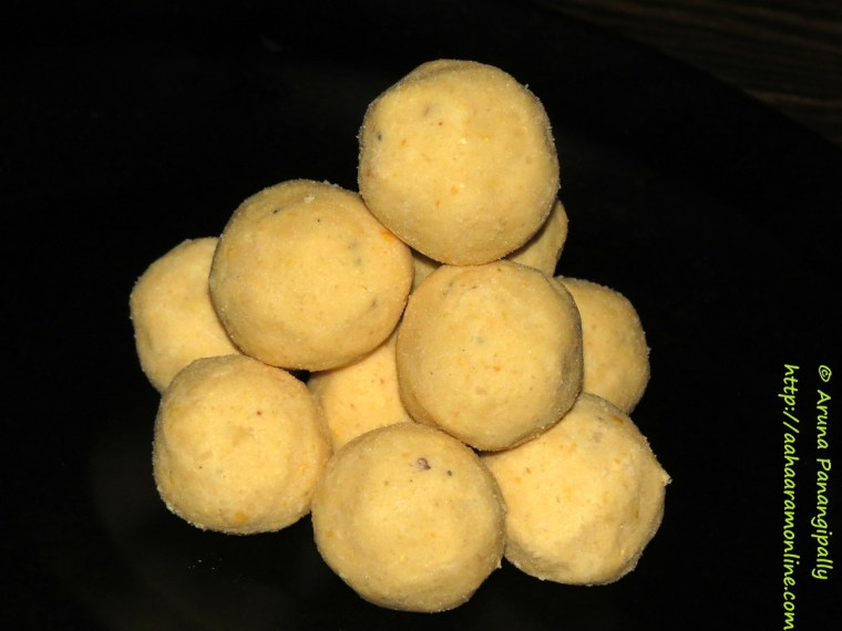 how to make laddu in sinhala