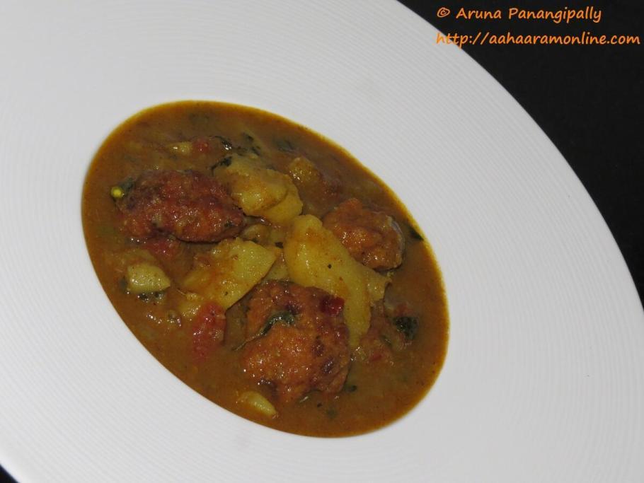 Punjabi Aloo Wadiyan | Amritsari Alu Wadi