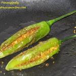 Bharli Mirchi - Maharashtrian Style Stuffed Green Chillies