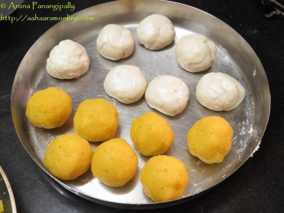 Making Sojjappalu - Step 1