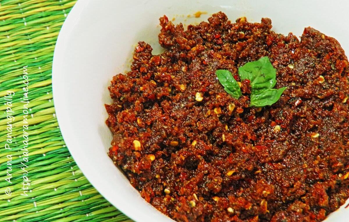 Sun-dried Tomato Basil Pesto