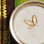 Vegan Gasagasala Payasam, Gasagasala Payasam, Khus Khus Kheer, Poppy Seeds Kheer