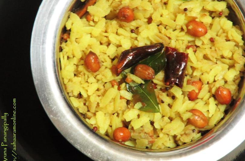 Atukula Pulihora | Puli Aval – Gokulashtami Recipe