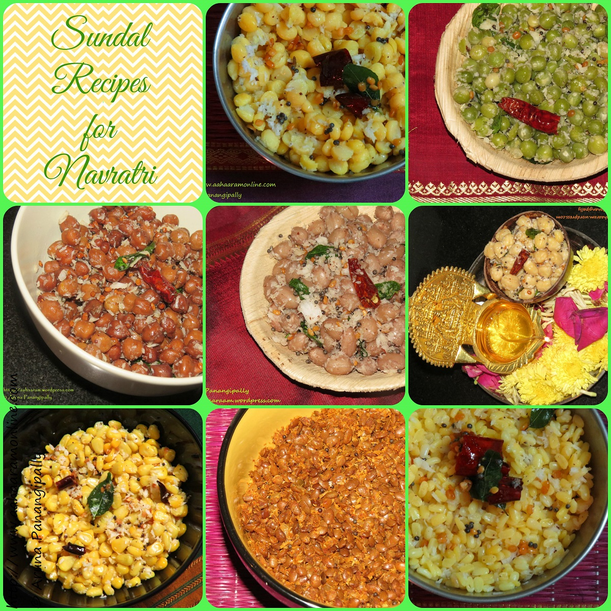 Sundal Recipes for Navratri
