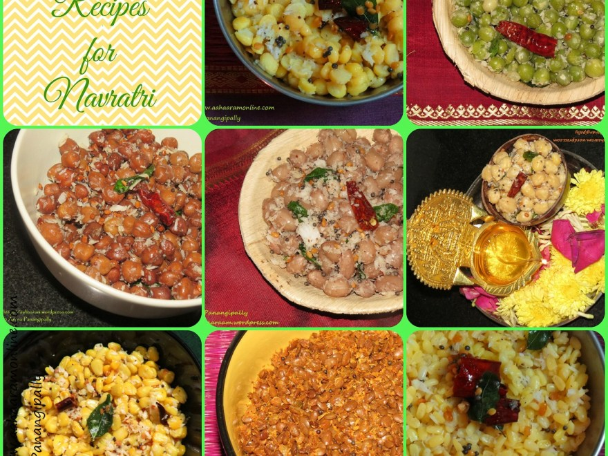 Navratri Sundal Recipes