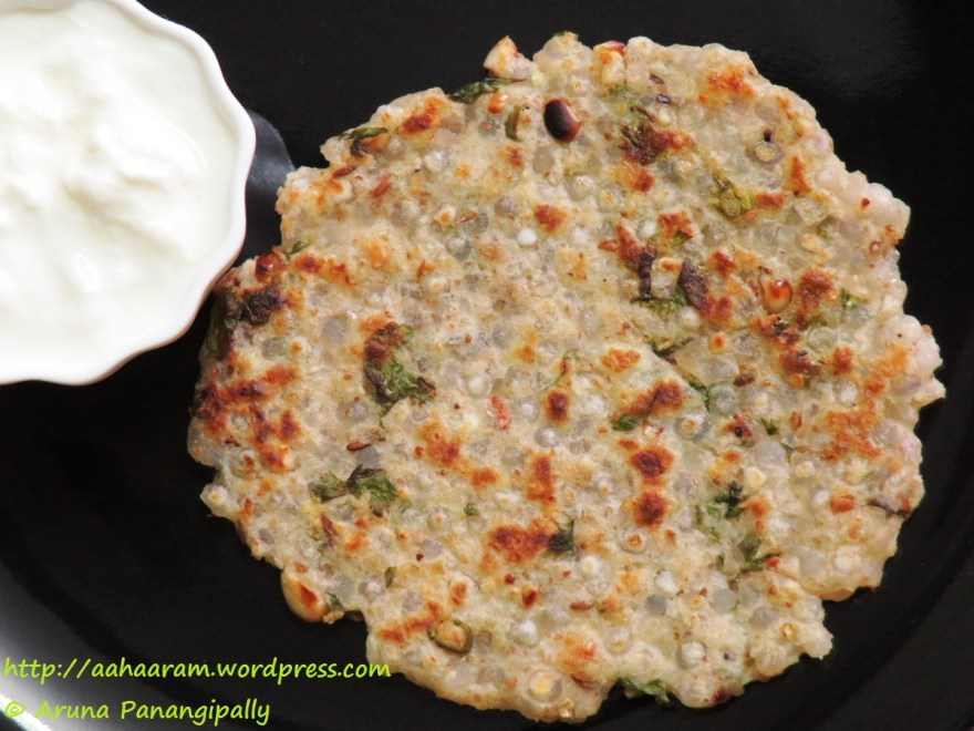 Sabudana Thalipeeth is a pancake made with Sabudana and Potato