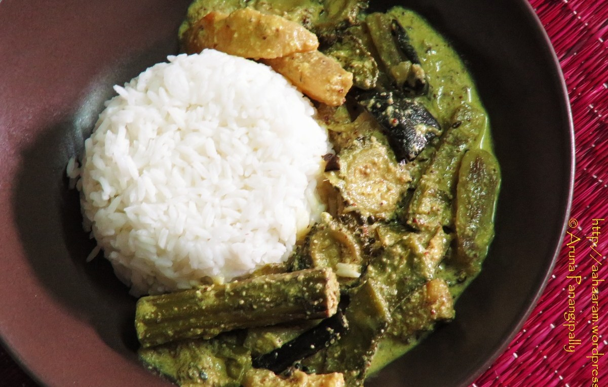 Shukto | Bengali Style Mixed Vegetables cooked in a mustard and poppy seed paste