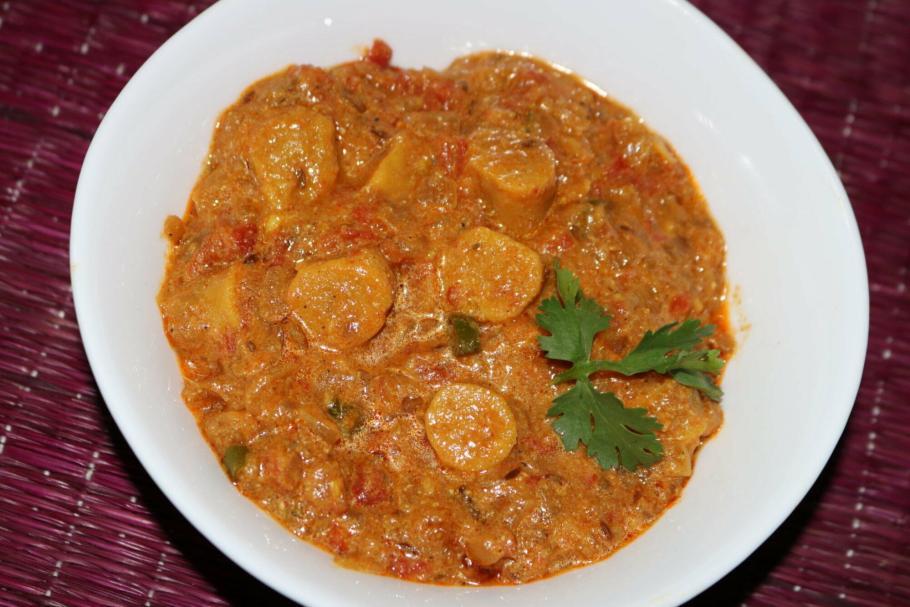 Rajasthani Gatta Curry