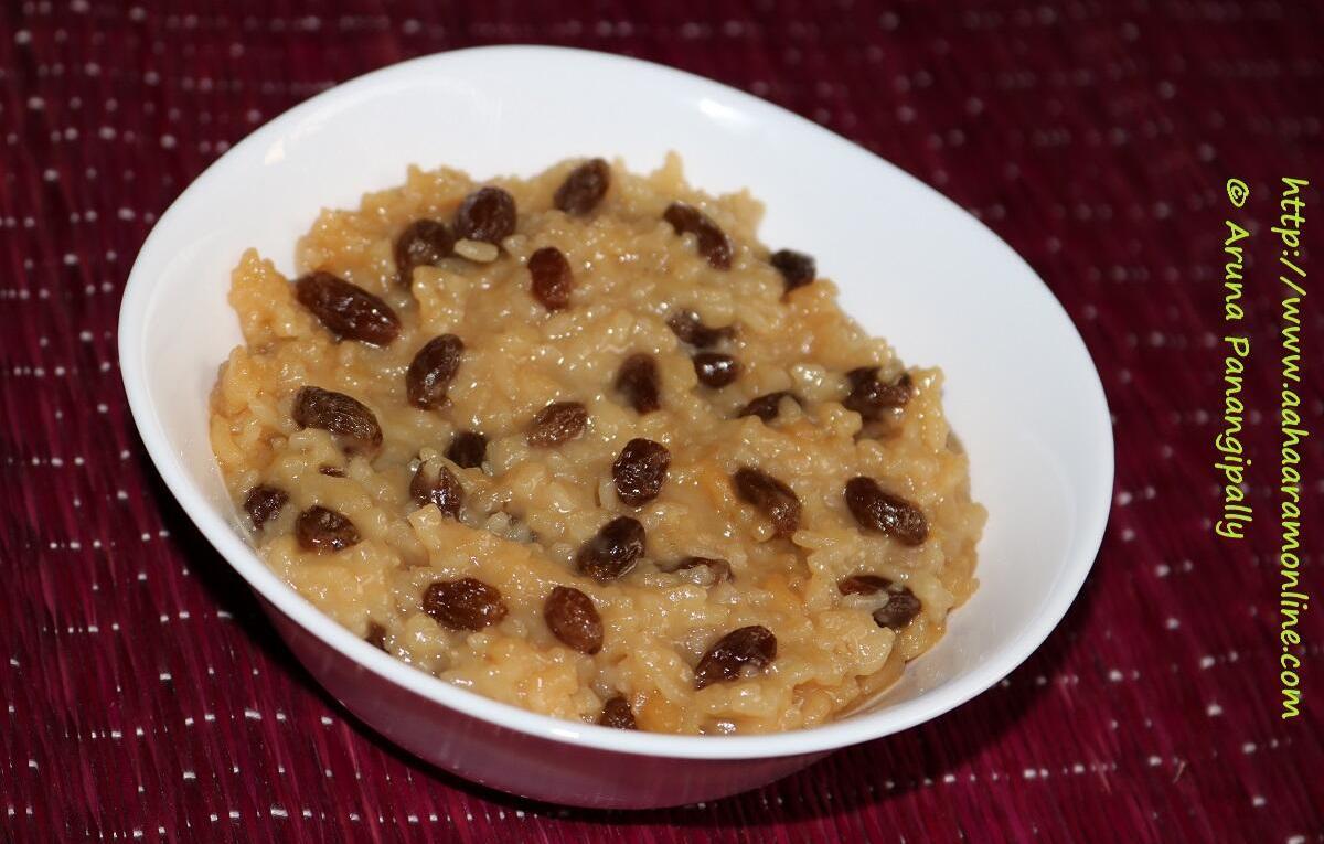 Vegan Rice Pudding with Raisins. Cinnamon, and Coconut Milk