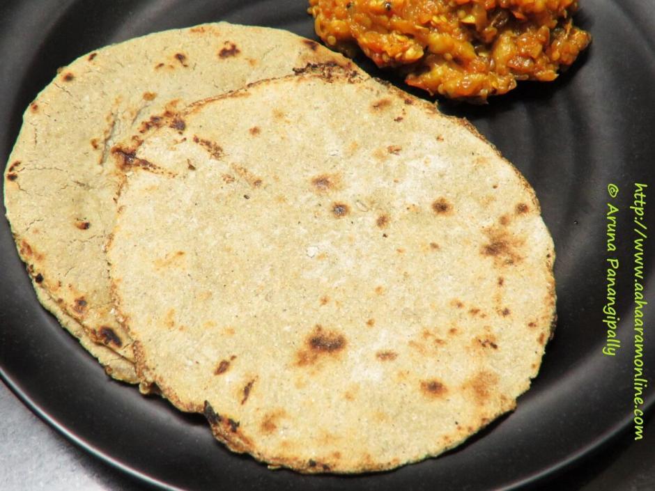 Bajra Roti | Bajrichi Bhakri