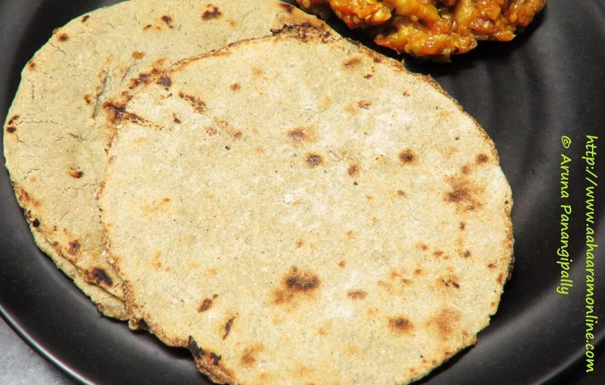 Bajra Roti   Bajrichi Bhakri