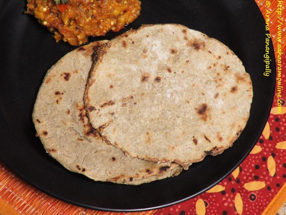Bajra Bhakri from Maharashtra