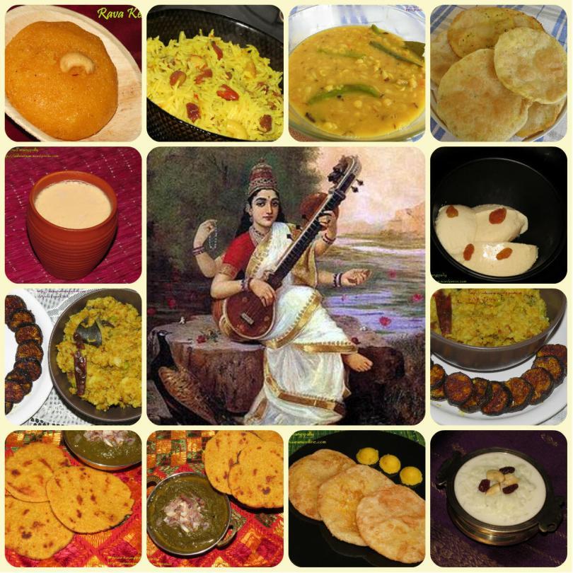 Recipes for Basant Panchami | Shree Panchami | Vasant Panchami