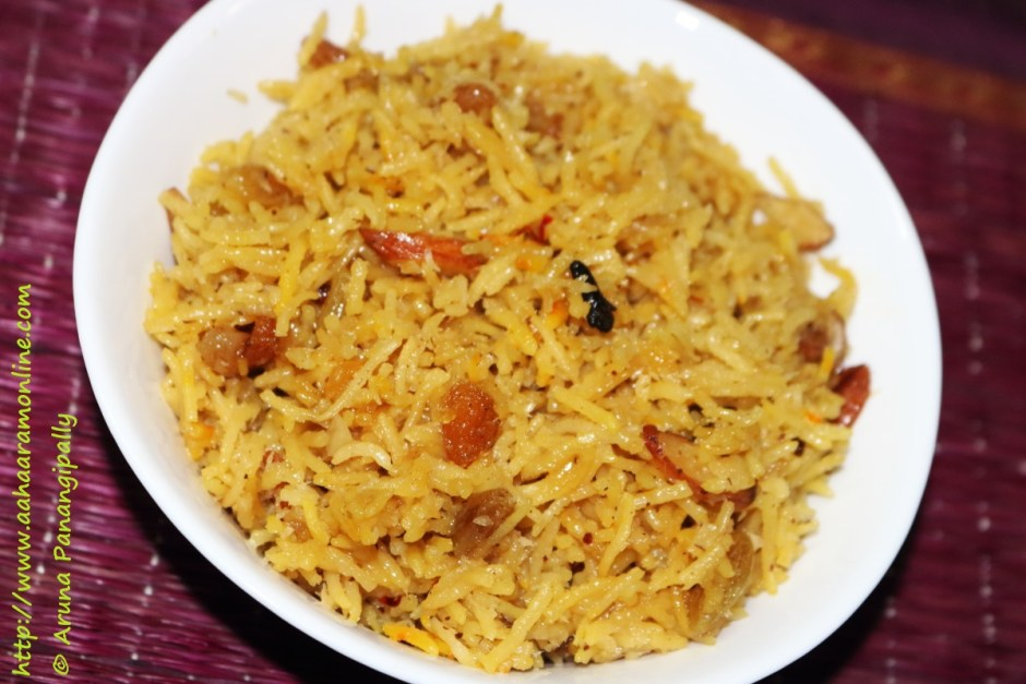 Narali Bhat | Sweet Coconut Rice from Maharashtra