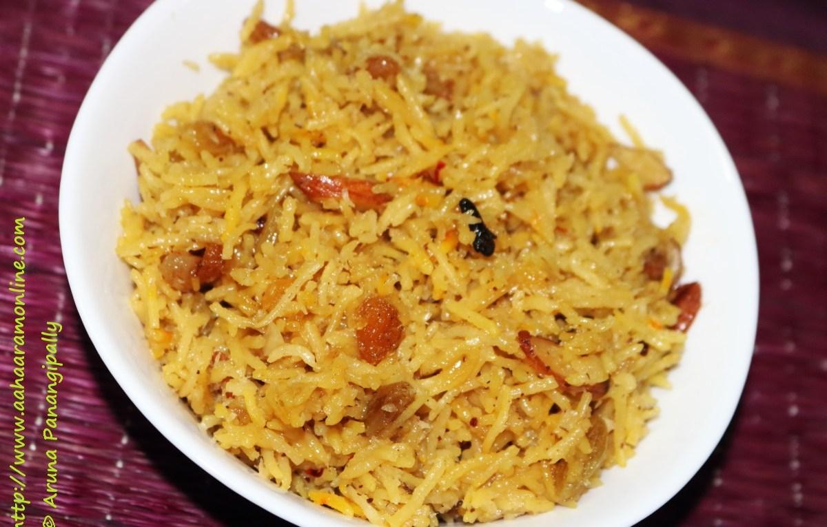 Narali Bhat | Sweet Coconut Rice from Maharashtra
