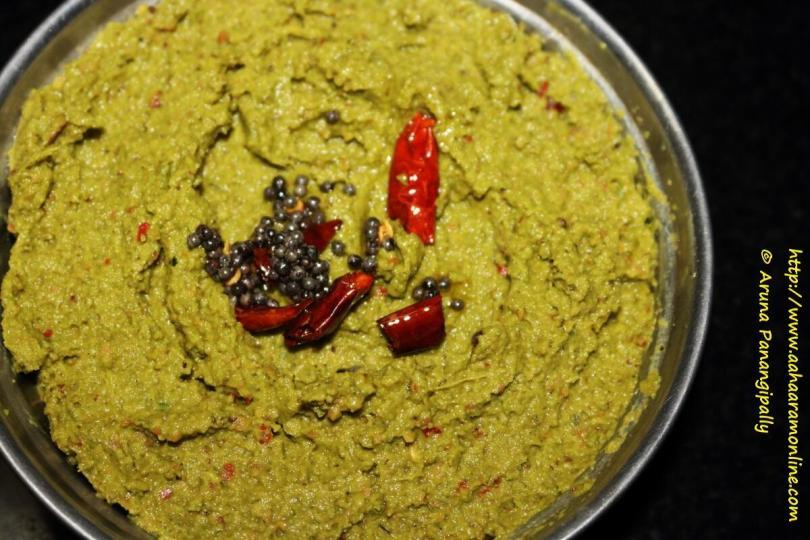 Andhra Beerakaya Thokku Pachadi