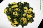Kela Methi Sabzi | Ripe Banana Fenugreek Curry