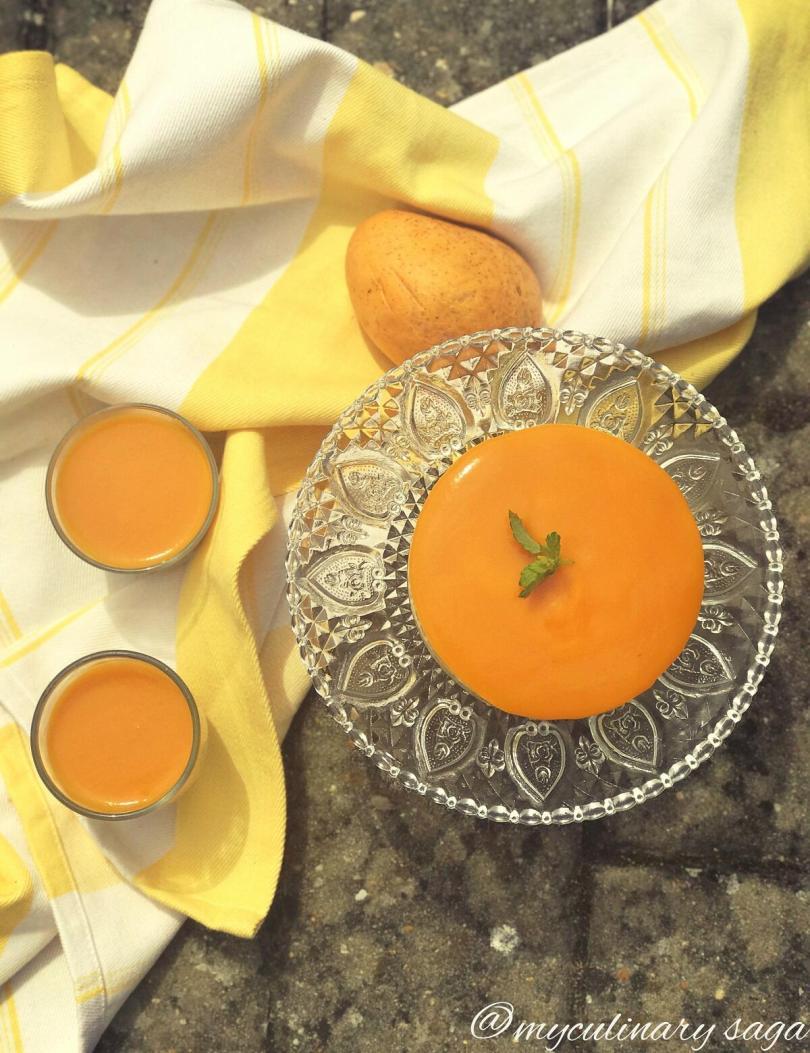 No Bake, Eggless Mango Cheesecake | Guest Post by Trupti of My Culinary Saga