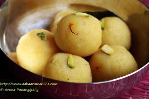 Moong Dal Laddu | Muger Mithai