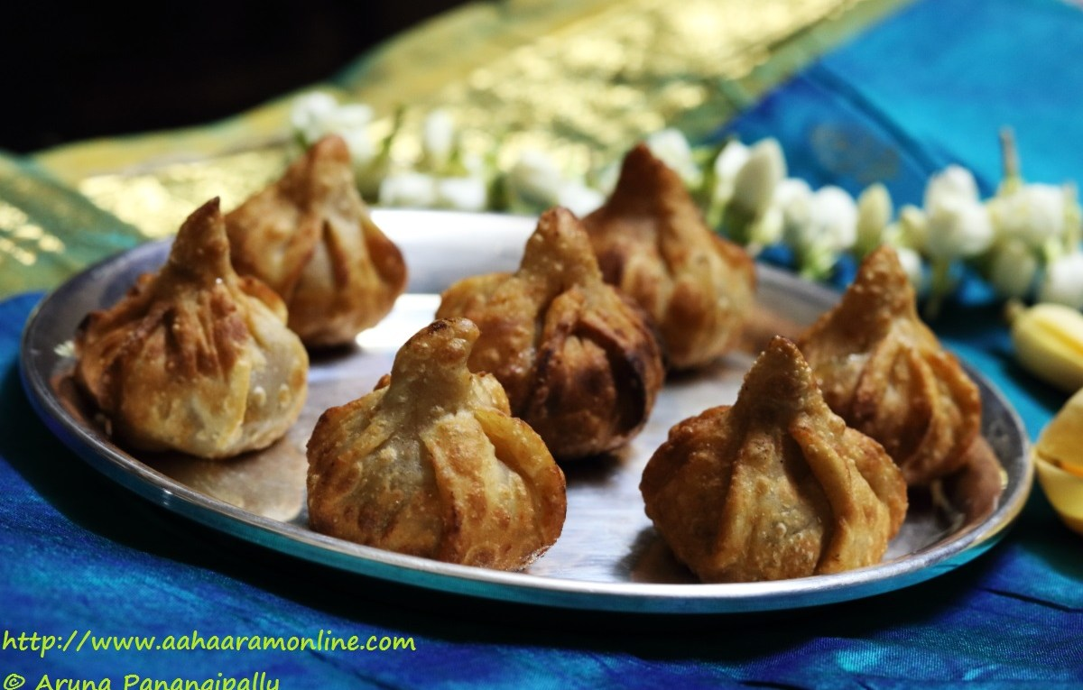 Talniche Modak | Fried Modak is made for Ganesh Chaturthi in Maharashtra