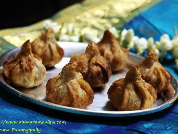 Talniche Modak   Fried Modak is made for Ganesh Chaturthi in Maharashtra
