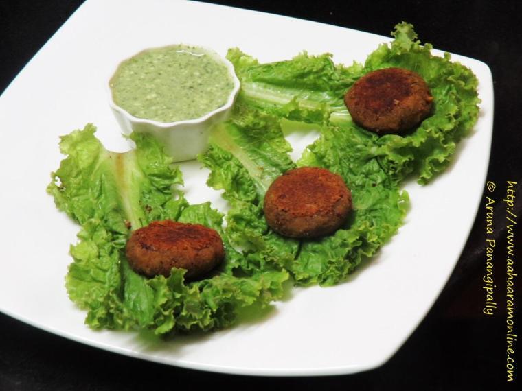 Vegetarian galouti kebab with soya and rajma h ram for Awadhi cuisine vegetarian
