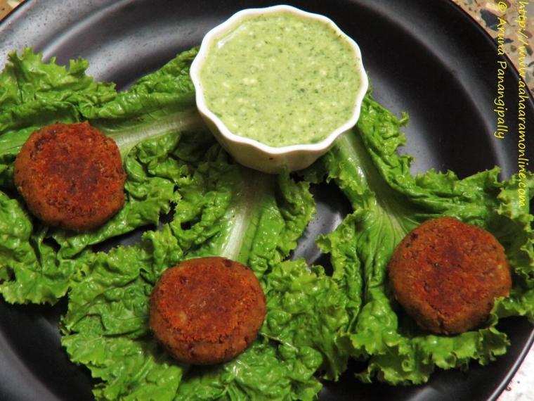Vegetarian Galouti Kebab with Rajma and Soya Granules
