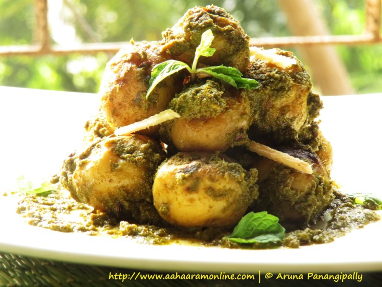 Chuteywale Aloo from Awadhi Cuisine