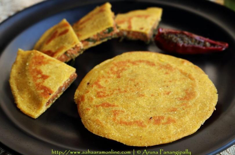 Beduan Roti | Makki Roti with Spicy Arbi Stuffing from Kangra Valley, Himachal Pradesh