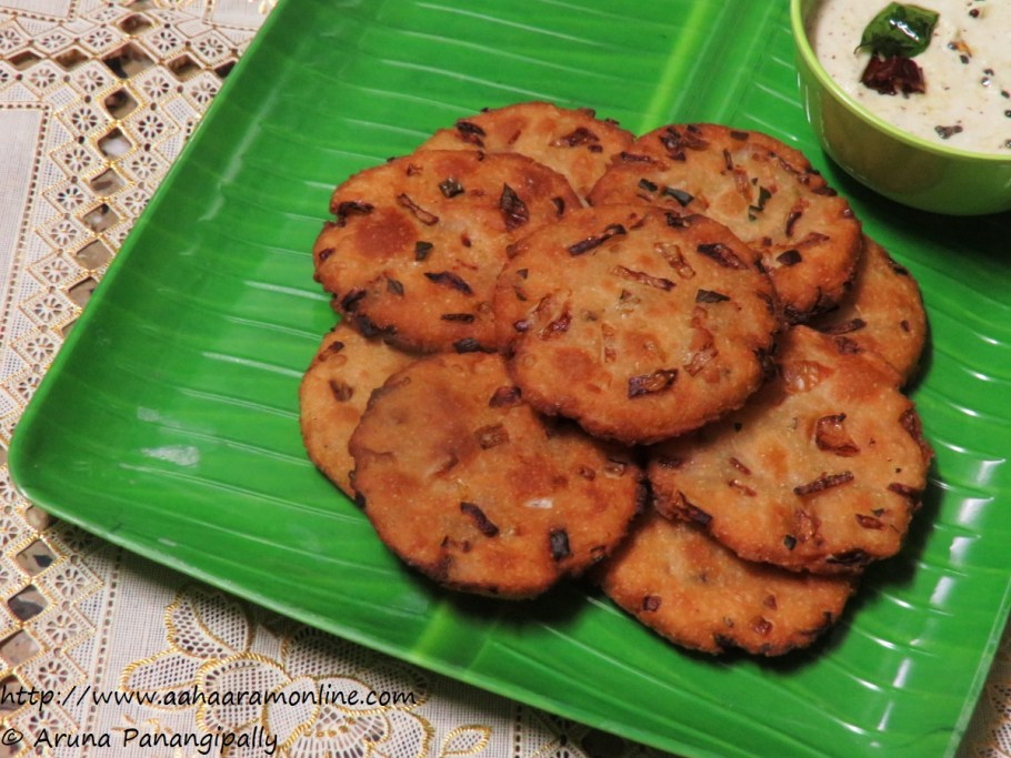 Maddur Vada | A Delicious Tea Time Snack from Karnataka