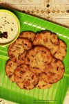 Maddur Vada | Deep-Fried Rice Flour and Semolina discs flavoured with onion and green chillies