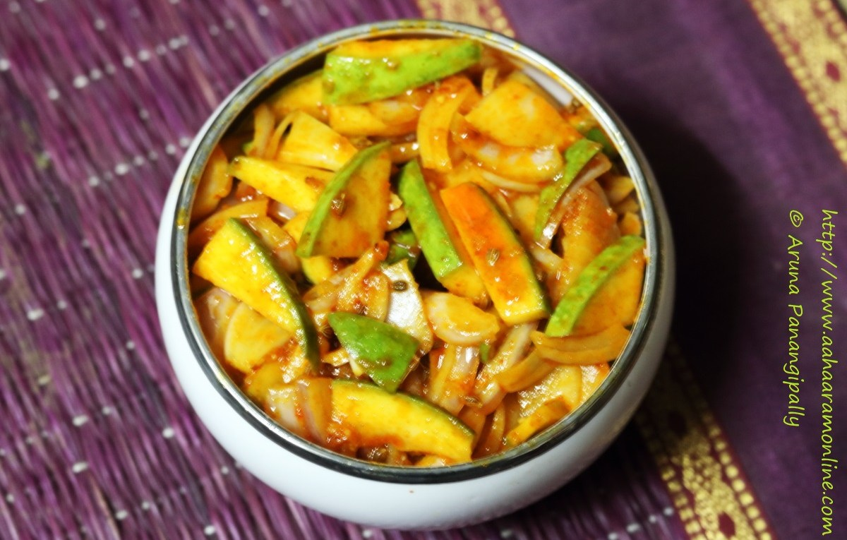 Neemki: A Himachali Mango Onion Pickle flavoured with fenugreek and carom seeds