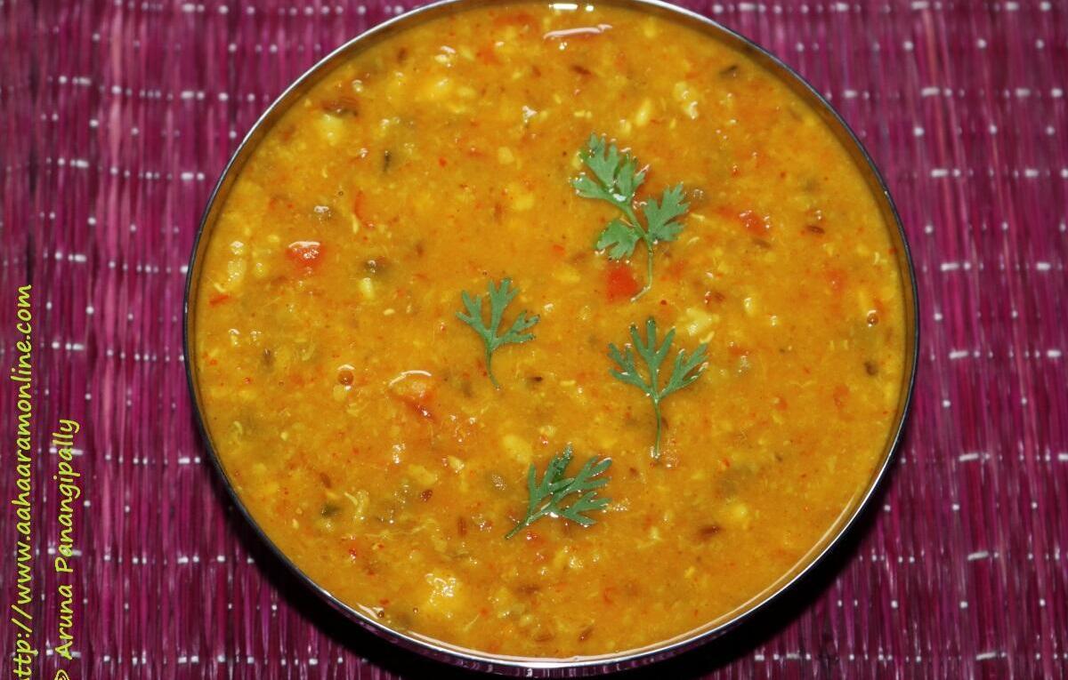 Panchmel Dal   Panchkuti Dal   Panchratna Dal is made with 5 lentils