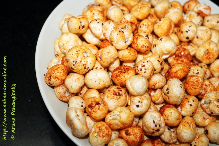 Spicy Roasted Phool Makhana
