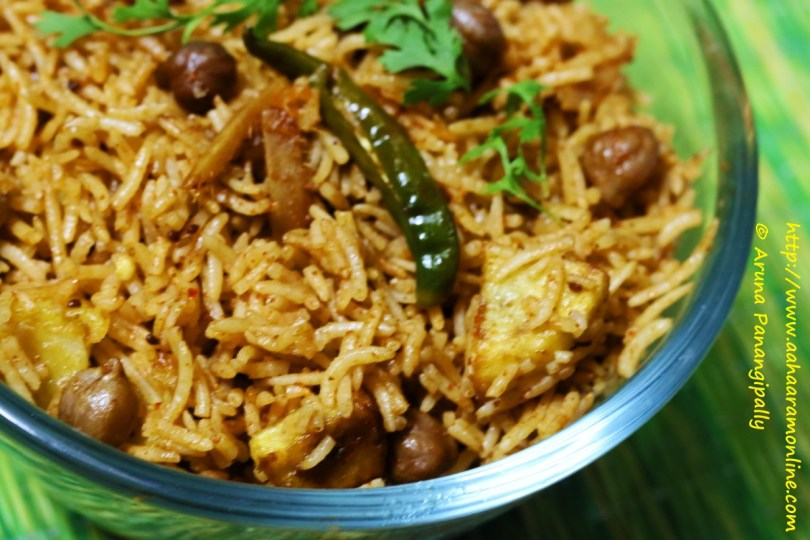 No Onion, No Garlic Chole Biryani | A Recipe Inspired by Nikita Jhanglani