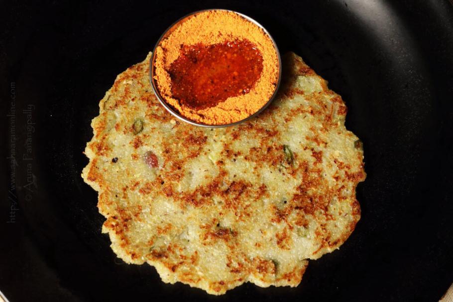 Cucumber Bhakri | Tavshe Bhakri