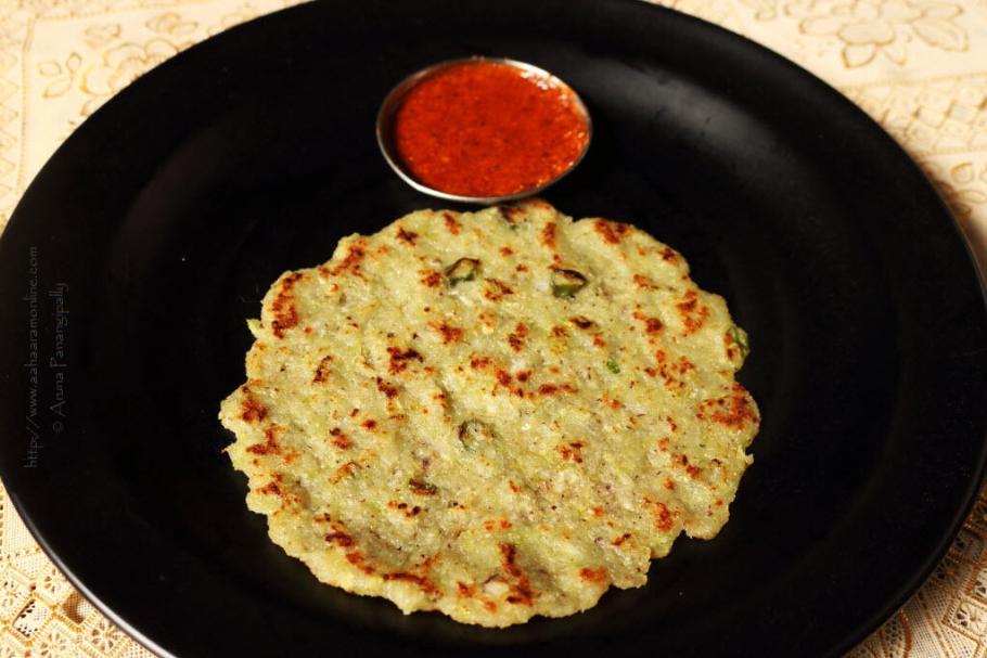 Tavshya Bhakri | Cucumber Bhakri