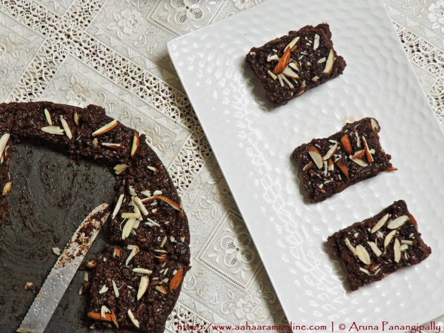 Quick and Easy Chocolate Kalakand with Milkmaid/Condensed Milk and Paneer