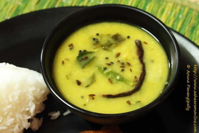 Dalithoy | Konkani Style Tempered Dal by Anupama Michael