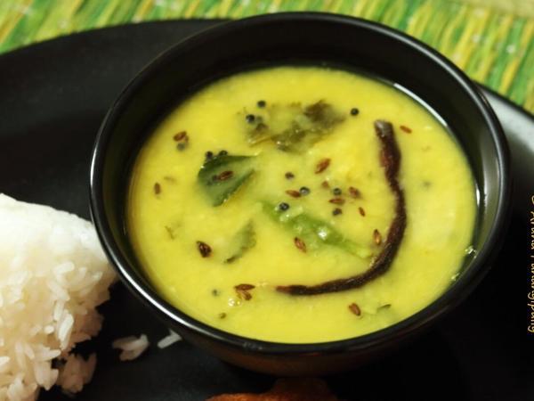 Dalithoy is Konkani Dal made with Tuvar Dal