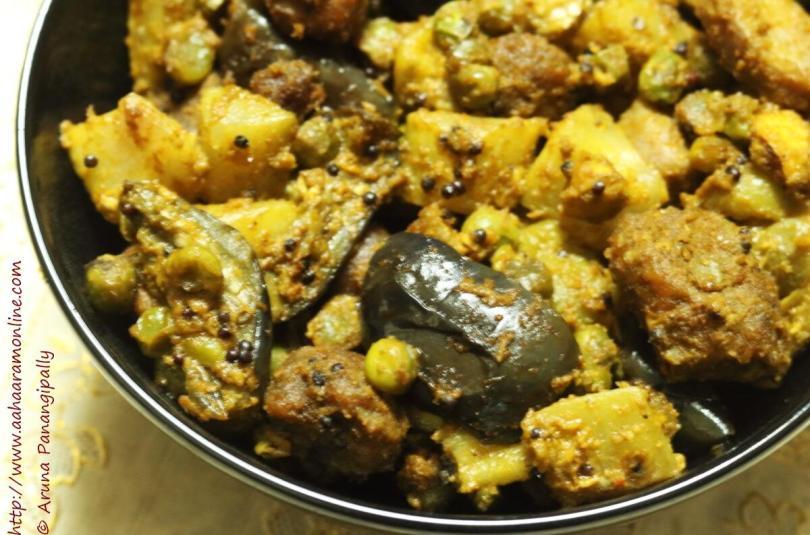 Panchkutiyu Shaak | A Gujarati Mixed Vegetable Recipe