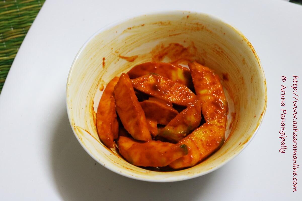Kacche Aam ka Hing Wala Achar | Instant Mango Pickle with Asafoetida