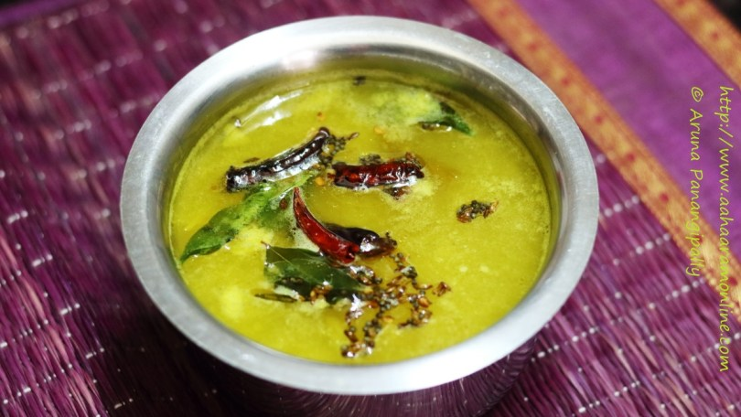 Raw Mango Rasam | Mammidikaya Chaaru