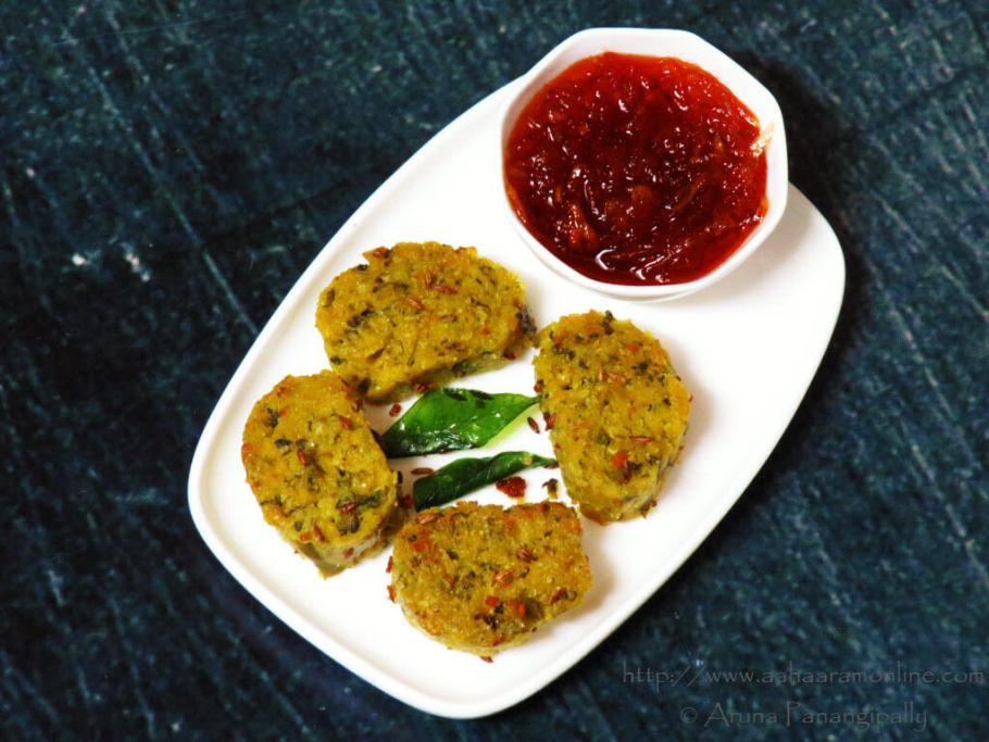 Gujarati Karela Muthia | Steamed Bitter Gourd Dumplings